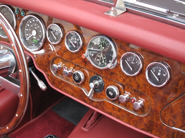 The specials custom made dashboards for Dash designs car interior shop